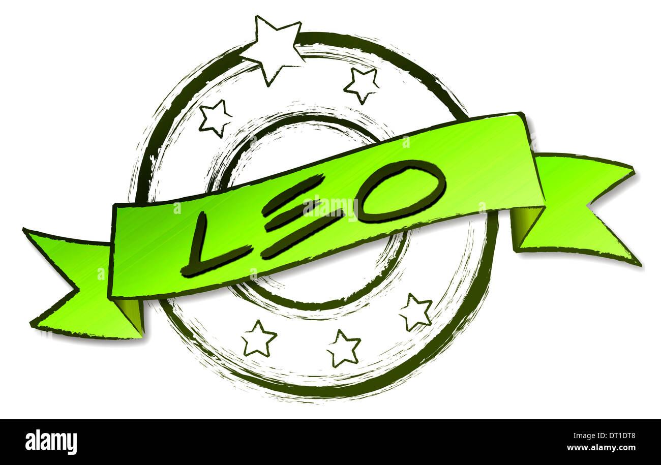 Leo Zodiac Star Sign Imagenes De Stock Leo Zodiac Star Sign Fotos