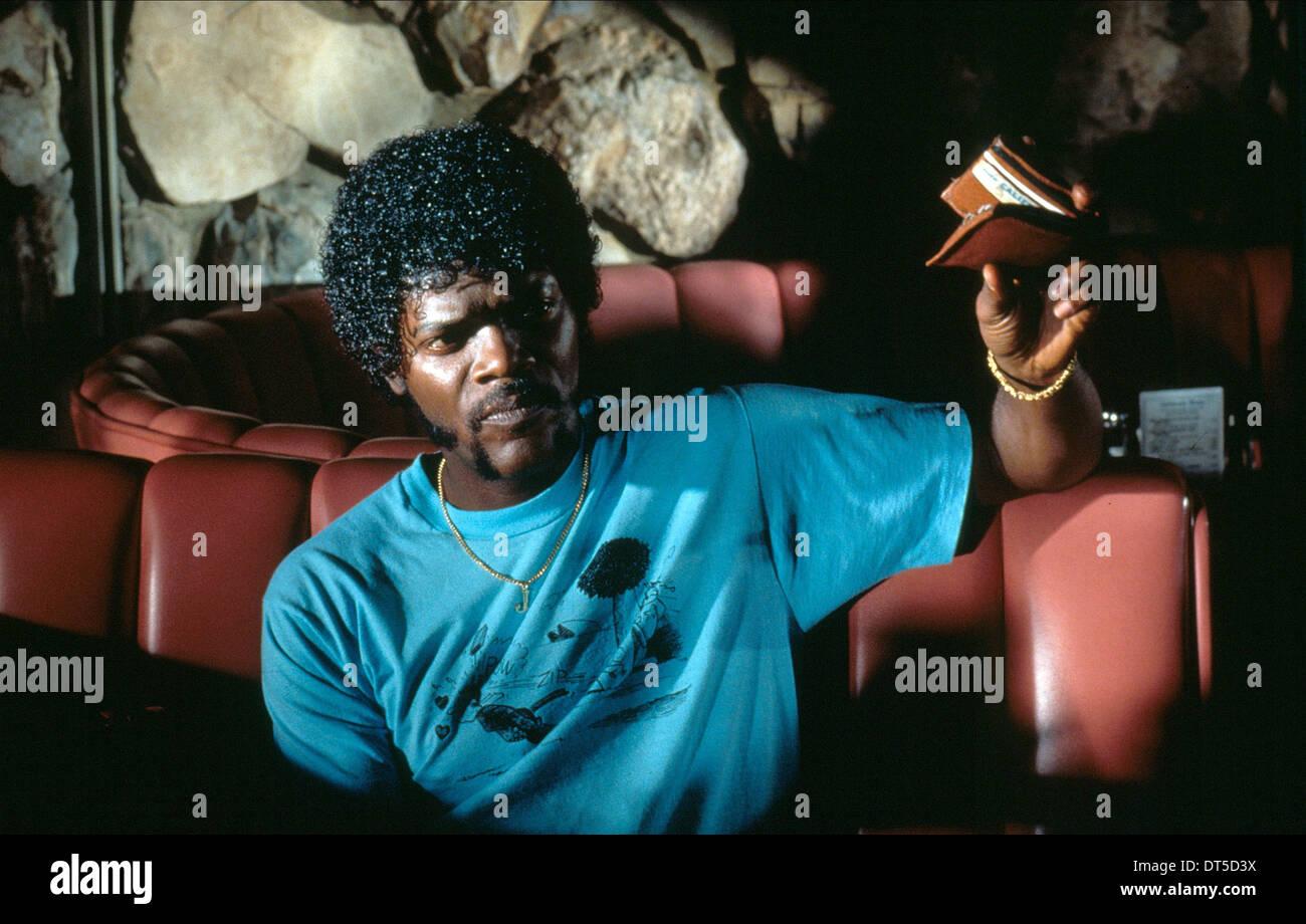 SAMUEL L. Jackson Pulp Fiction (1994) Foto de stock