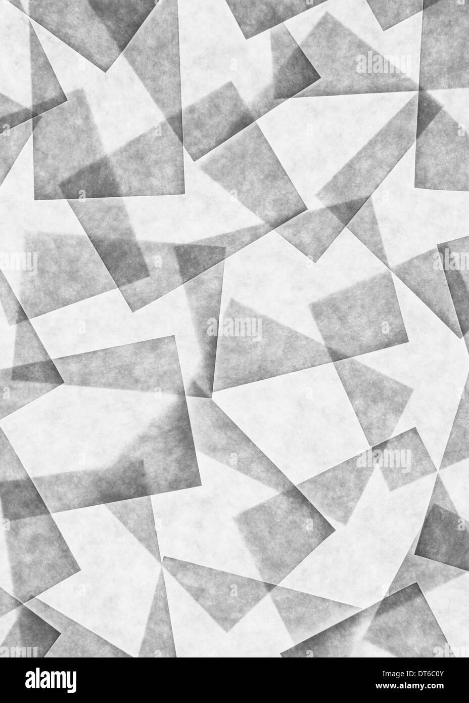 Post-it notes arreglada y superposición, encima de una fuente de luz. Imagen De Stock
