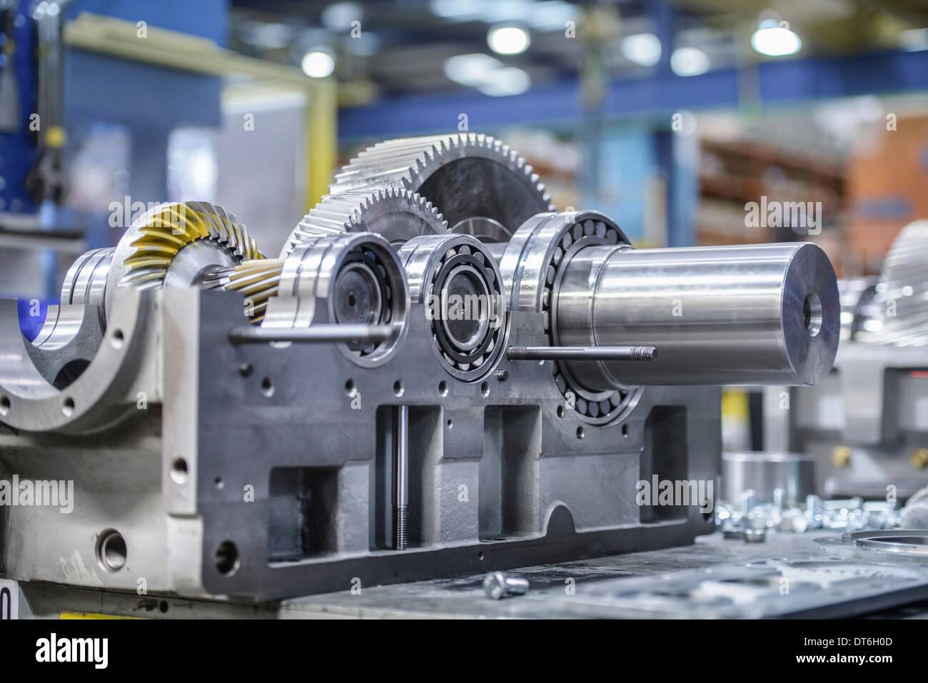 Caja industrial en la fábrica. Imagen De Stock