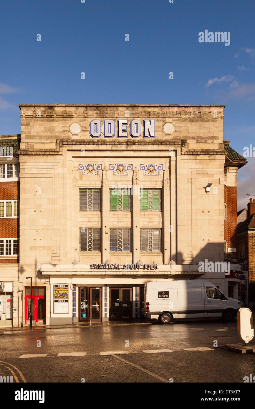 Cine Odeon en Richmond Upon Thames, el Gran Londres, Inglaterra Imagen De Stock