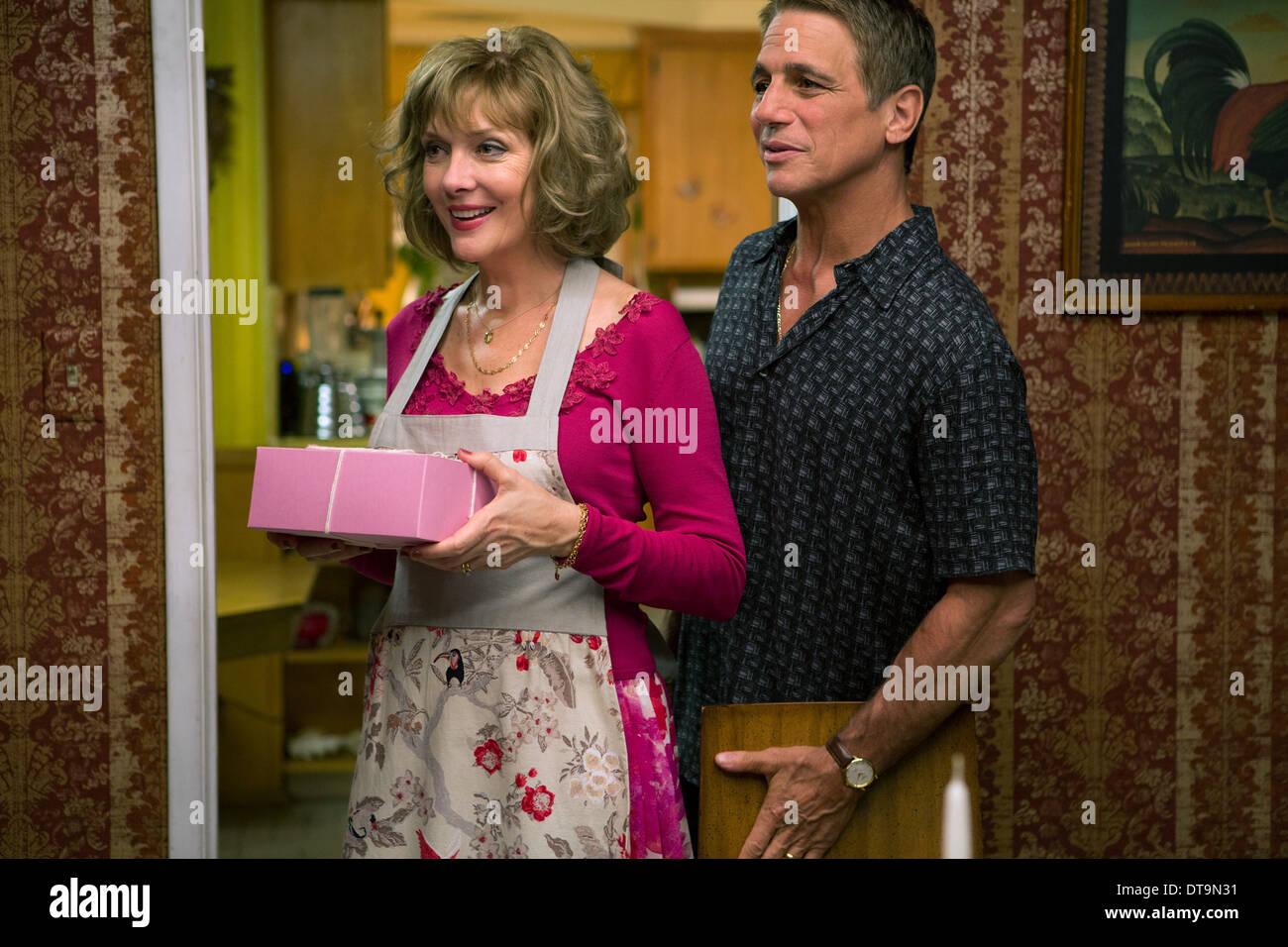 GLENNE HEADLY & Tony Danza DON JON (2013) Imagen De Stock