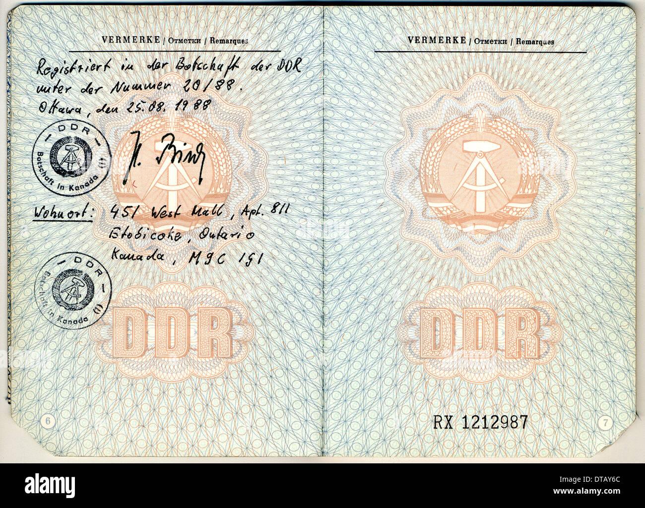Lujo Plantilla De Pasaporte Foto - Ejemplo De Colección De ...