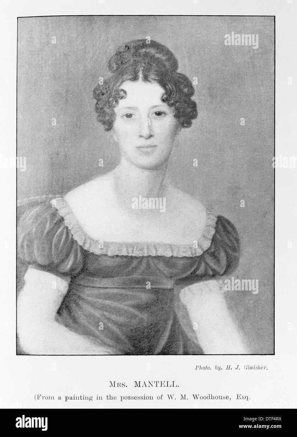 Mary Ann Mantell Imagen De Stock