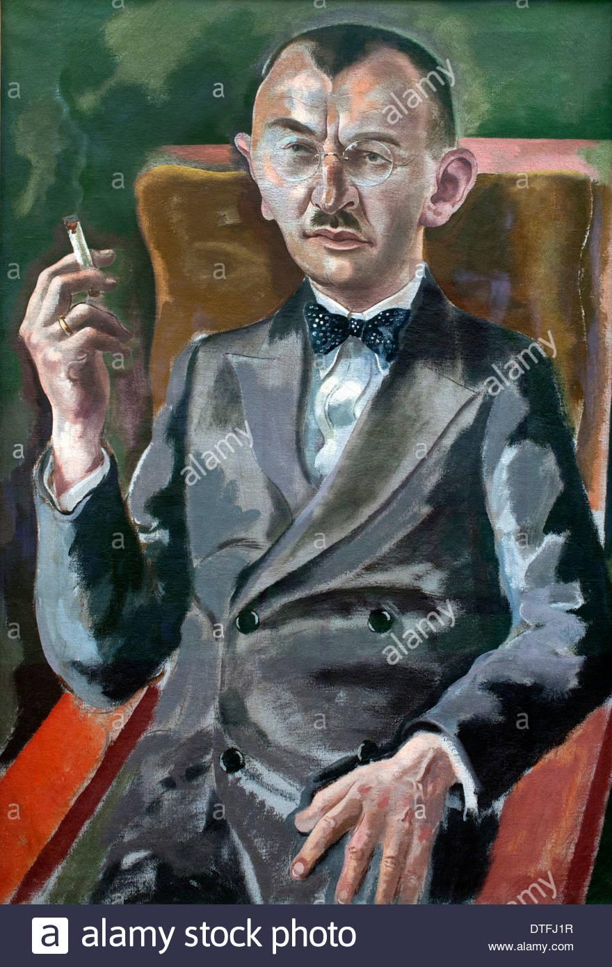 Doctor Eduard Plietzsch 1928 George Grosz 1893-1959 alemán Alemania Foto de stock