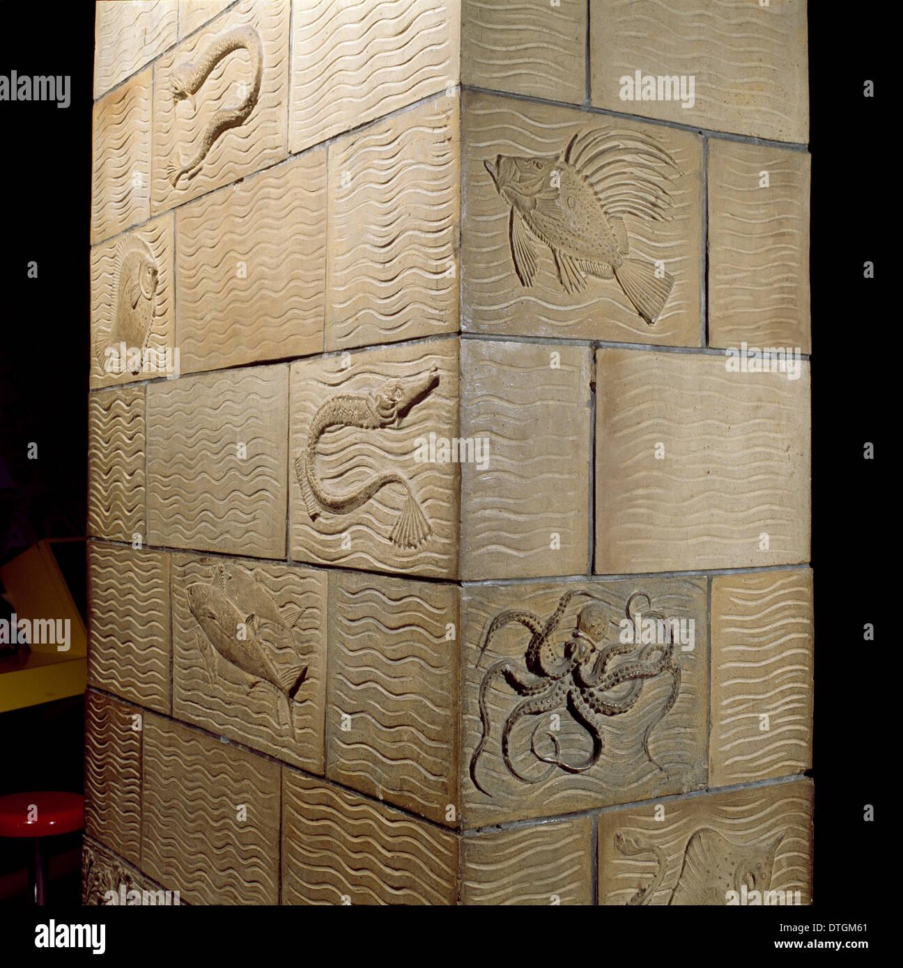 Paneles de terracota Imagen De Stock
