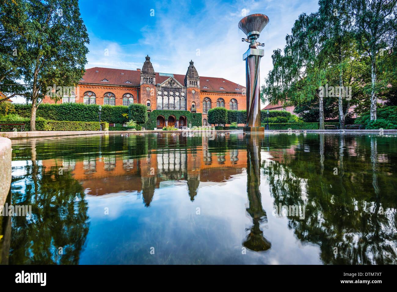 Museo Judío de Dinamarca en Copenhague, Dinamarca. Foto de stock