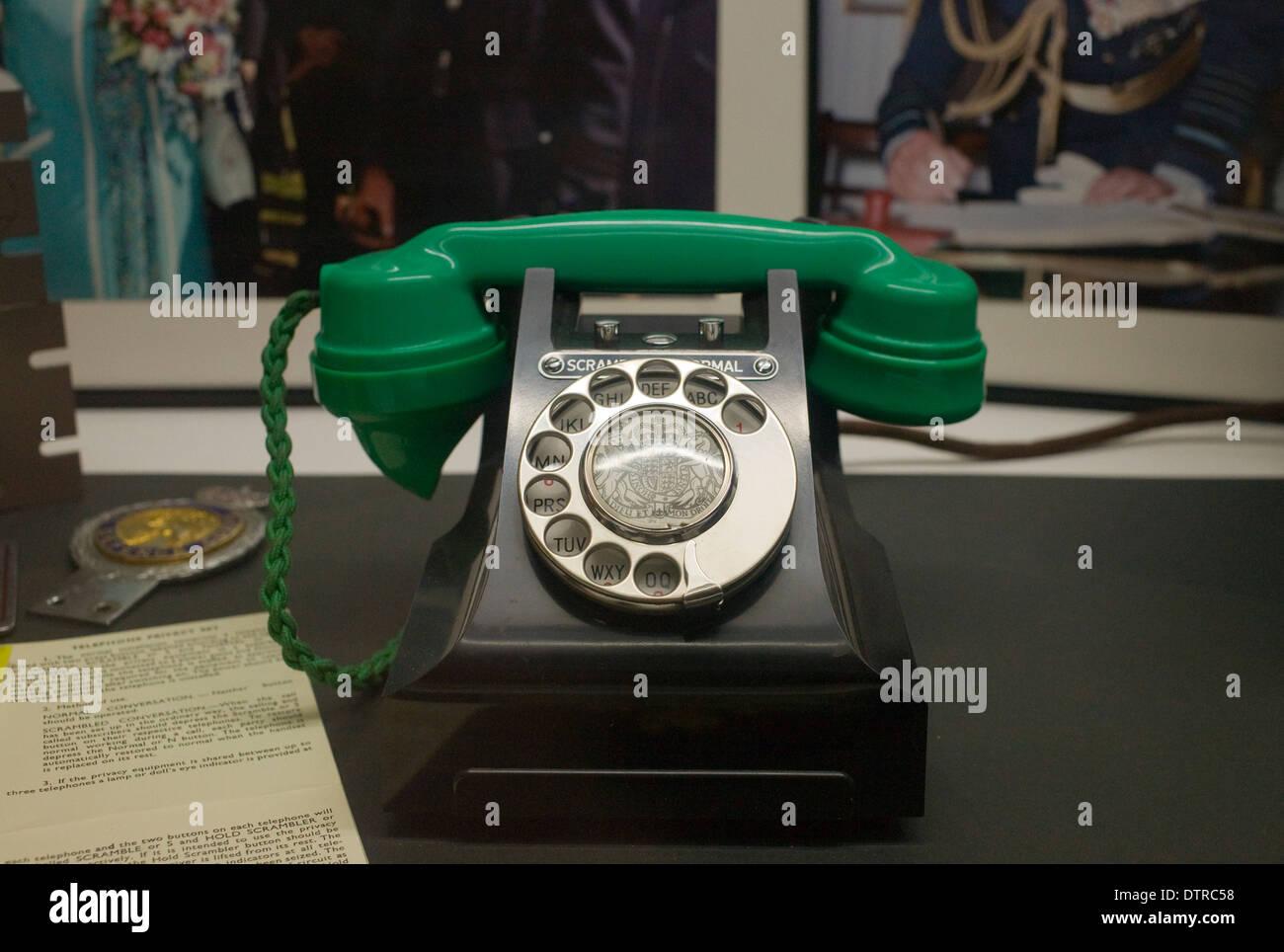 La Reina de la guerra fría Teléfono Imagen De Stock