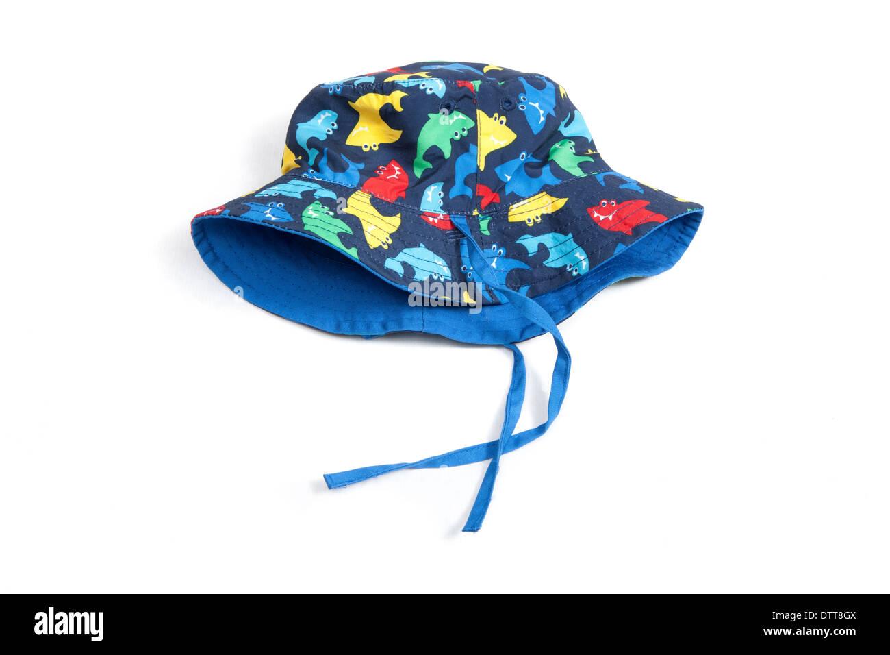 Aislados de color lindo bebé sombrero. Foto de stock