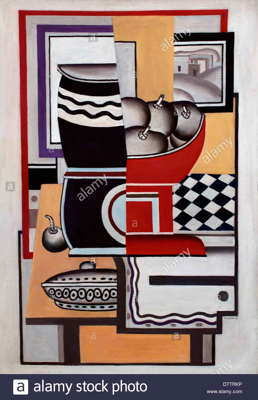 Todavía viven 1925 Fernand Léger pintor francés Francia Imagen De Stock