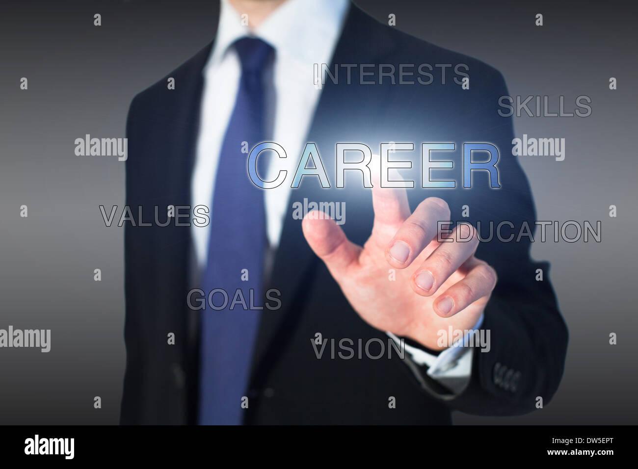 concepto de carrera Imagen De Stock
