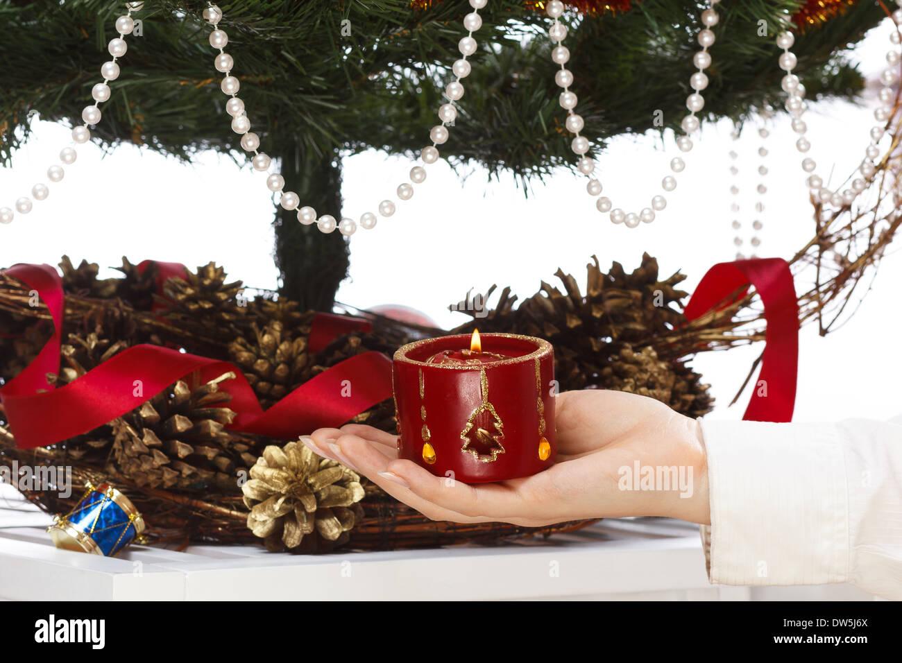 Decorar El Arbol Con Cintas.Decorar El Arbol De Navidad Con Bolas Cintas Y Cosas