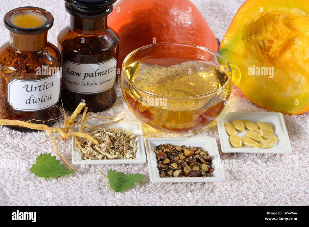 Medicina de próstata Imagen De Stock