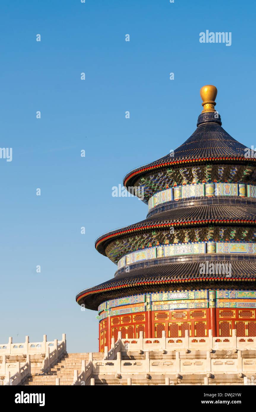 El Templo del Cielo en Beijing, China. Imagen De Stock