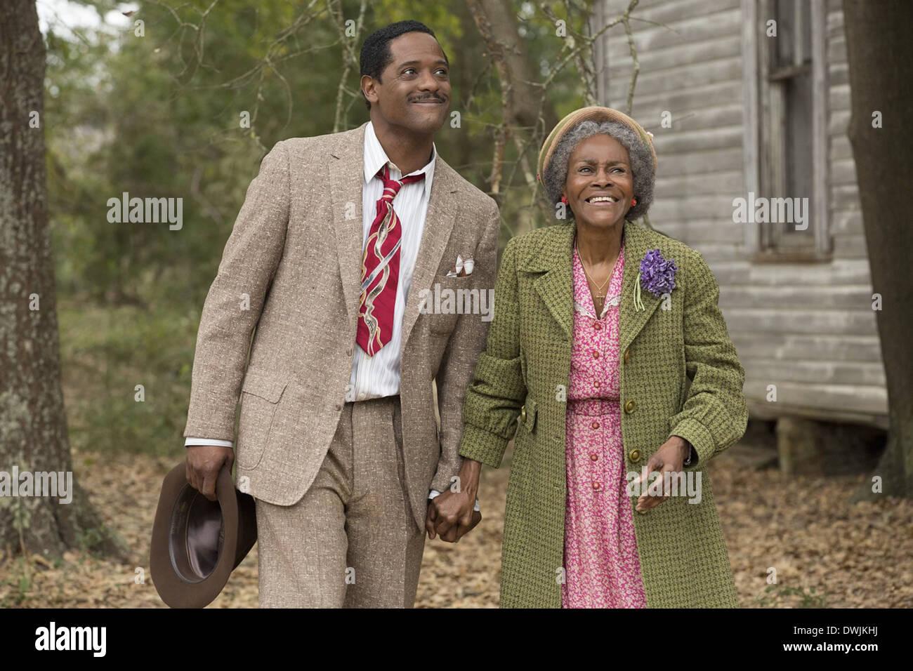 El viaje a la abundante vida 2014 película con Cicely Tyson como la Sra. Watts y Blair Underwood como Luddie vatios Imagen De Stock