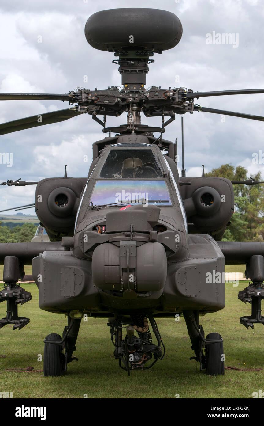 AAC AgustaWestland WAH-64D. Foto de stock