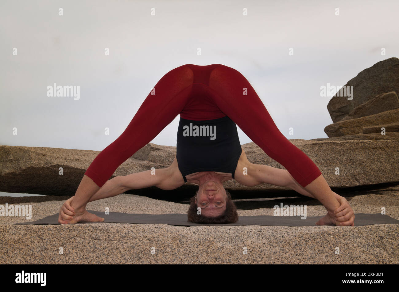 Prasarita Padottanasana Iyengar Yoga