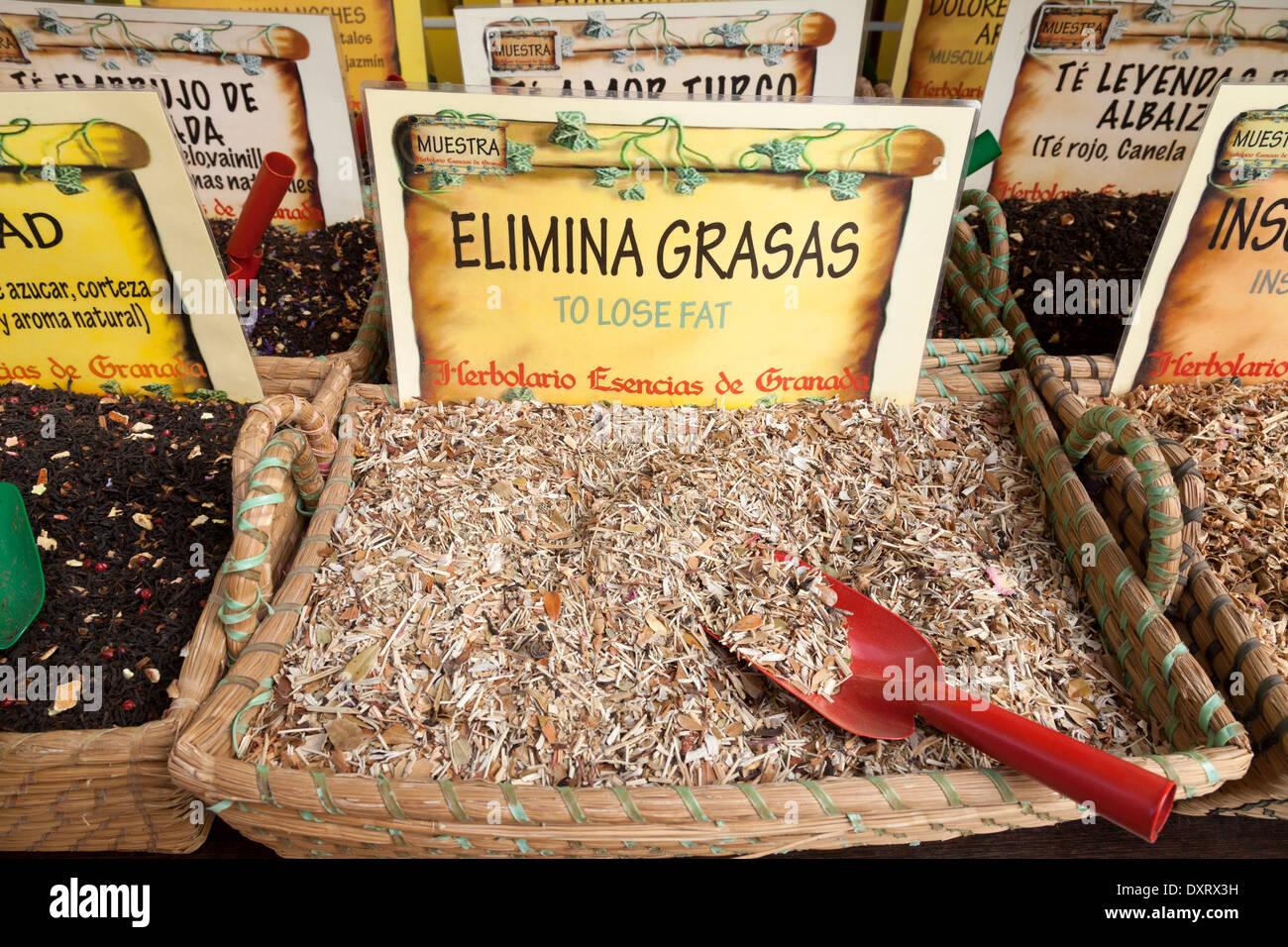 Tés de hierbas para la venta con fines medicinales - esta para ayudar a la  pérdida 3fc135c13874