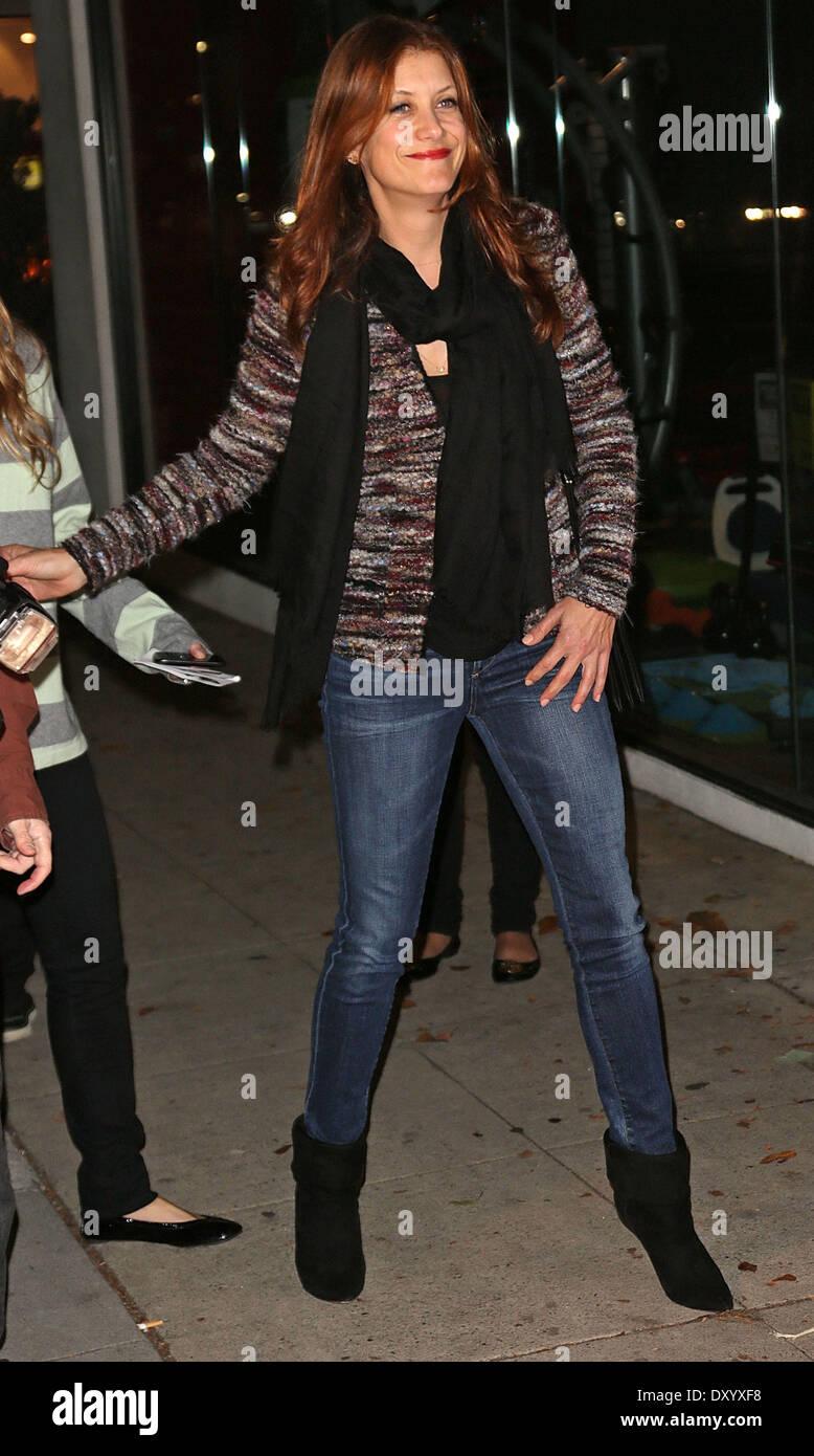 """Los Angeles estreno de """"seguridad"""" en el Laemmle Music Hall - Llegadas con: Kate Walsh donde: Los Ángeles, California, EE.UU. Cuando: 27 Nov 2012 Imagen De Stock"""