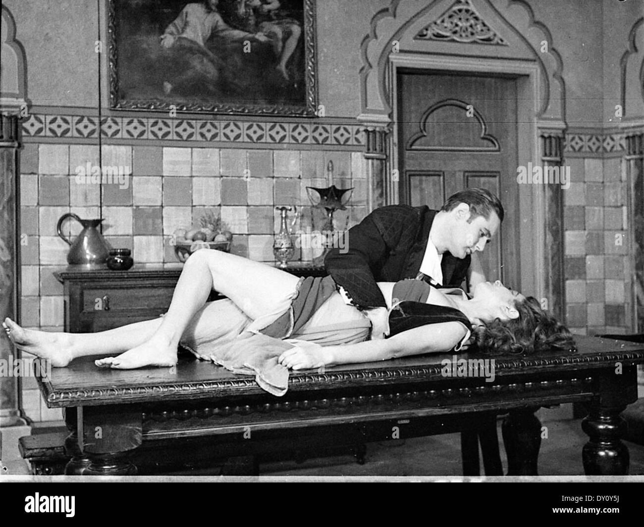 """El vendaval"", el Teatro Real (foto llamada), Sydney, 1944 / fotógrafo Sam Hood Imagen De Stock"
