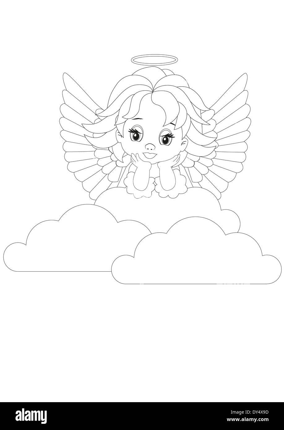 Vistoso Colorear Nubes De Páginas Ornamento - Dibujos Para Colorear ...