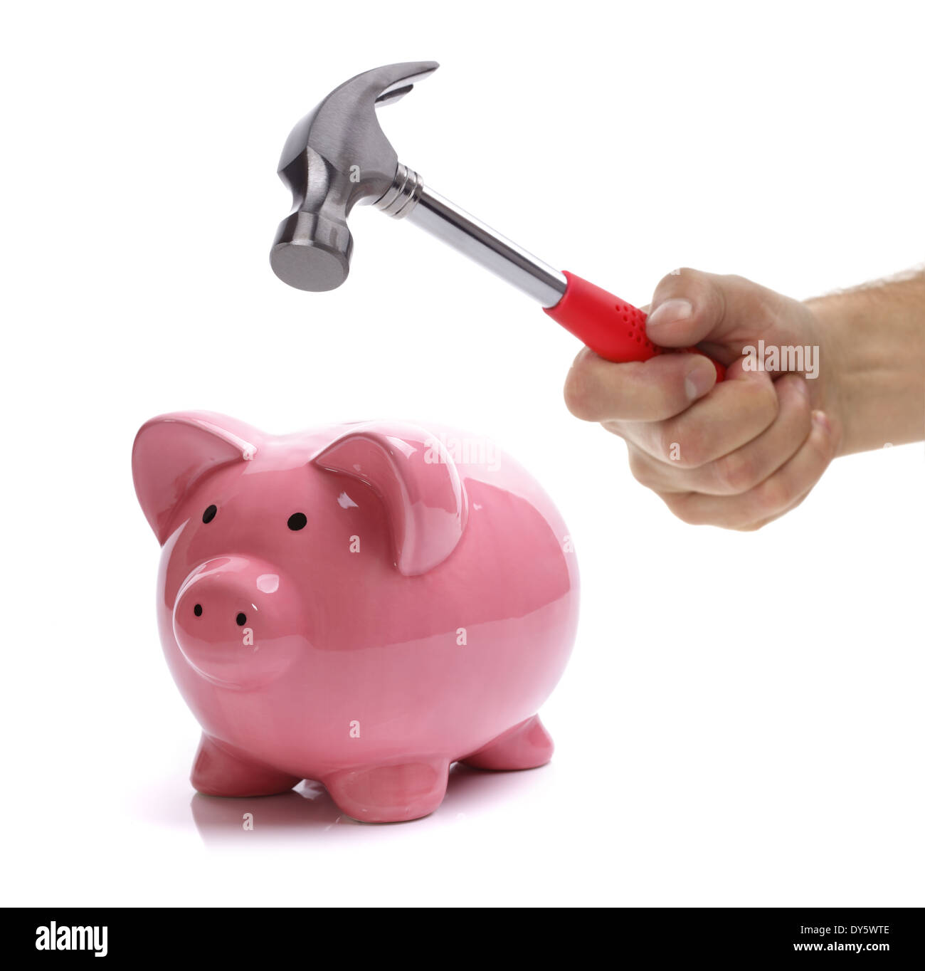 Obtención de ahorros Imagen De Stock