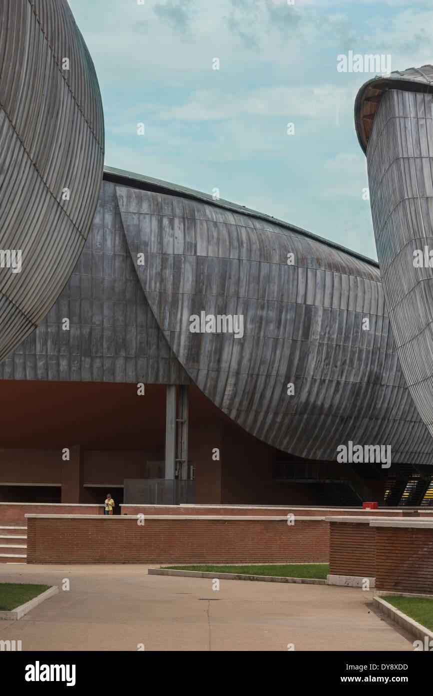 El Auditorio Parco della Musica, Roma, Italia Imagen De Stock