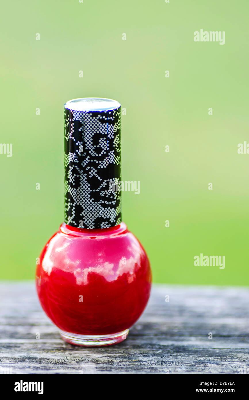 Lujoso Negro Rojo Esmalte De Uñas Motivo - Ideas de Pintar de Uñas ...
