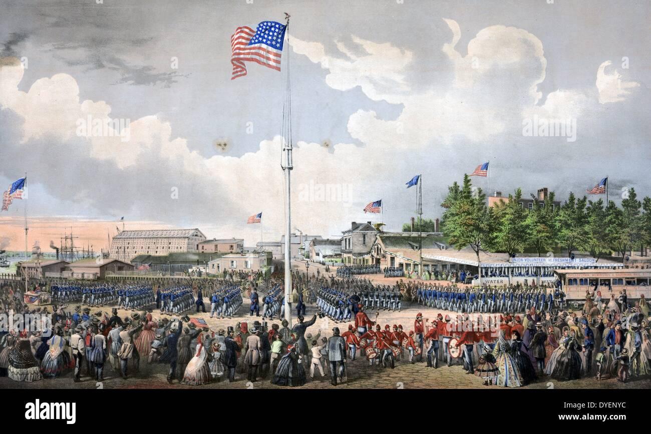 Unión refresco voluntario tricuerpo de Filadelfia. Imagen De Stock