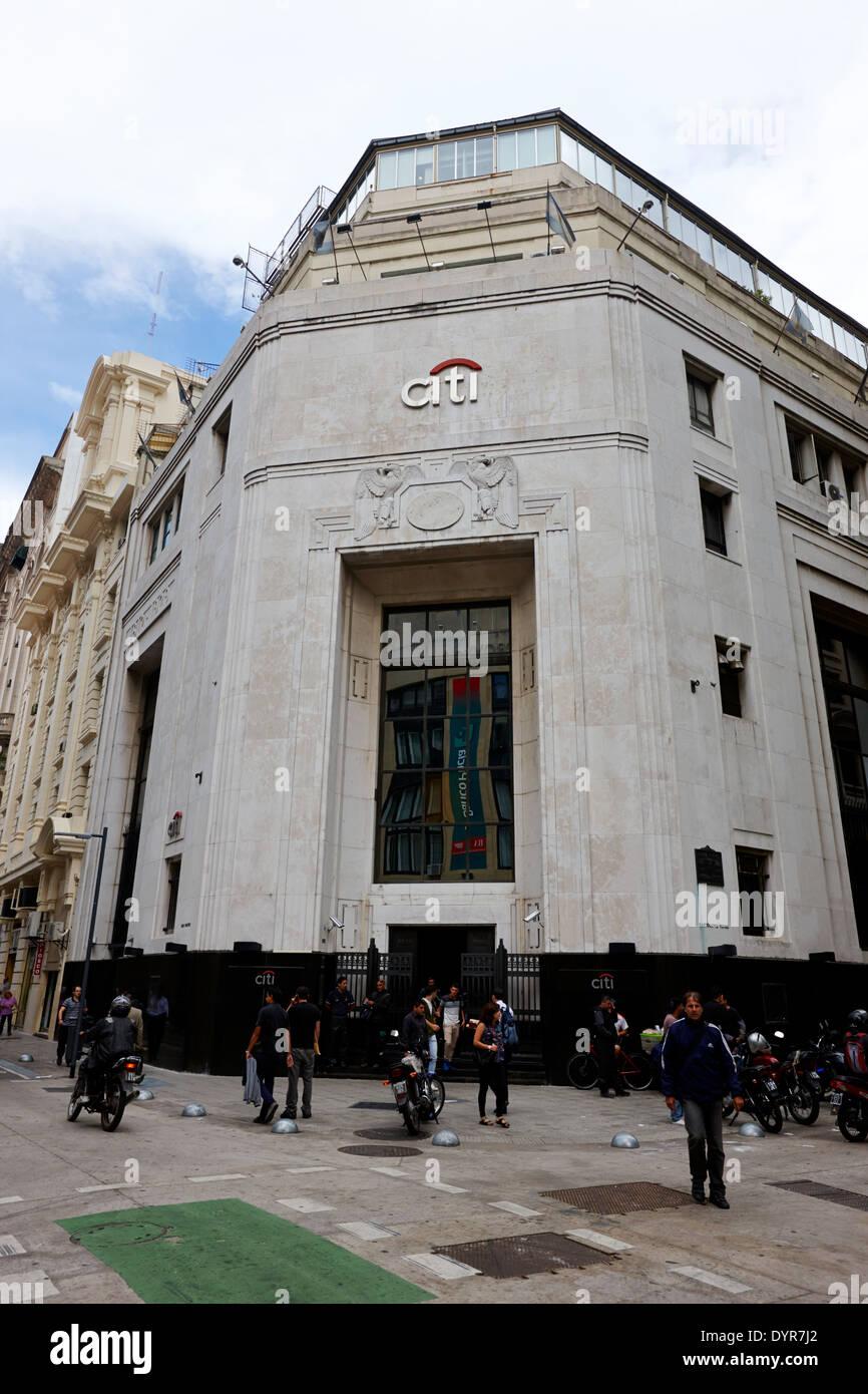 El First National Bank of Boston edificio ahora citibank Buenos Aires Argentina Imagen De Stock