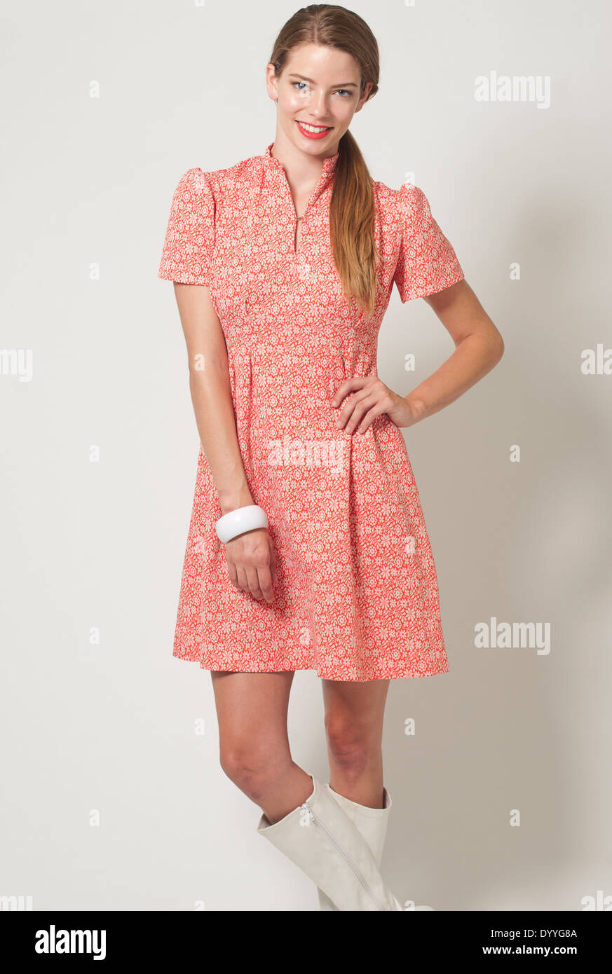 Vintage Clothing Dress Blonde Imágenes De Stock & Vintage Clothing ...
