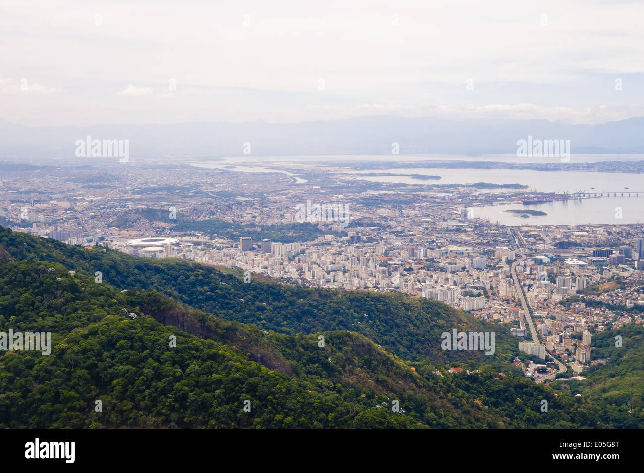 Río de Janeiro, Zona Norte, Maracana stadion, FIFA 2014 Worldcup, Brasil Imagen De Stock
