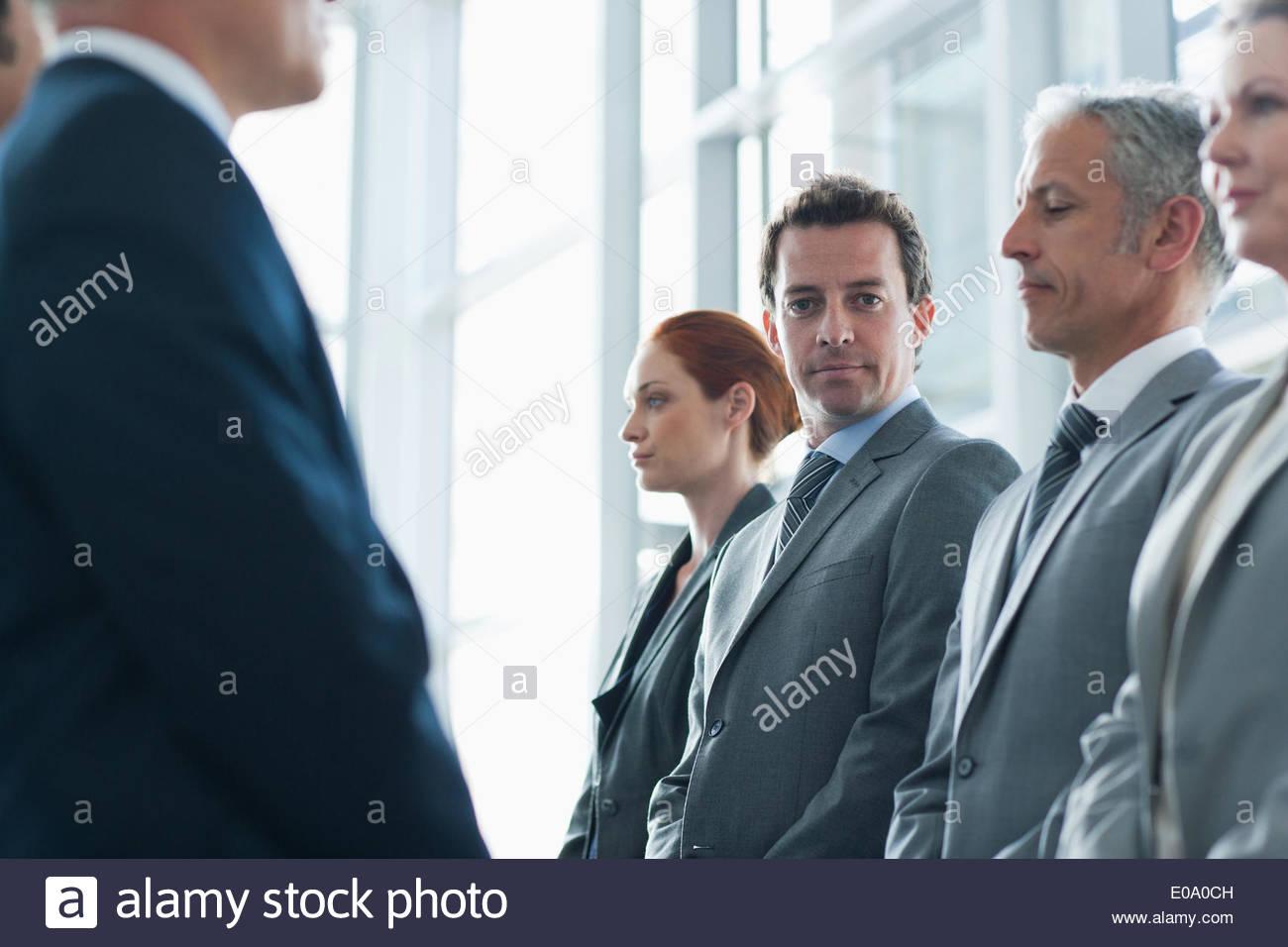 El grupo de gente de negocios Imagen De Stock