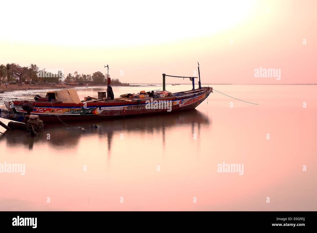 Ziguinchor-Senegal Imagen De Stock