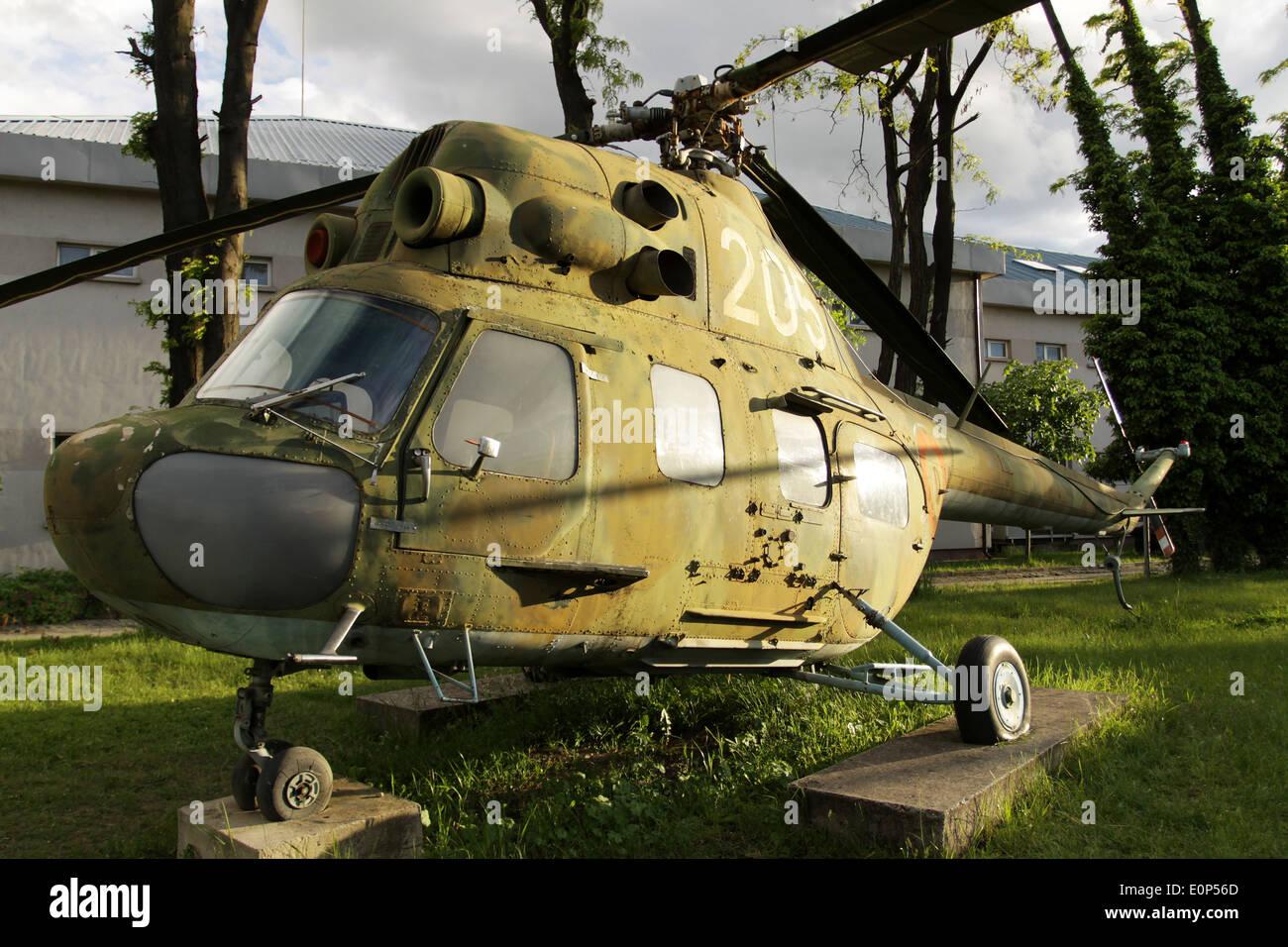 Helicóptero soviético de la época de la guerra fría Imagen De Stock