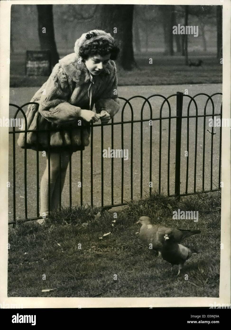 Marzo 03, 1963 - Italia el último niño prodigio en Londres alimenta ...
