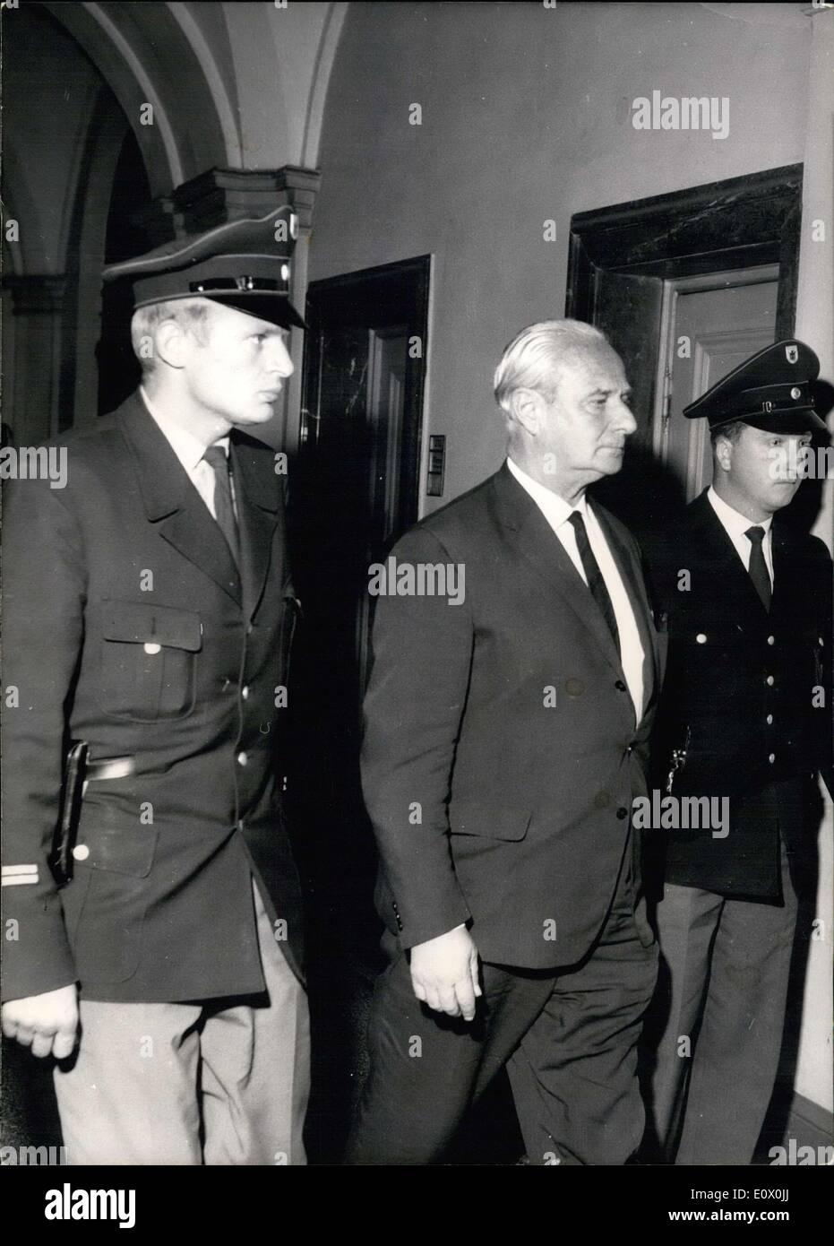 Septiembre 22, 1964 - ''Educación penitenciaría:..por motivo de asesinato cometidos comunes sobre más de 300 000 Foto de stock