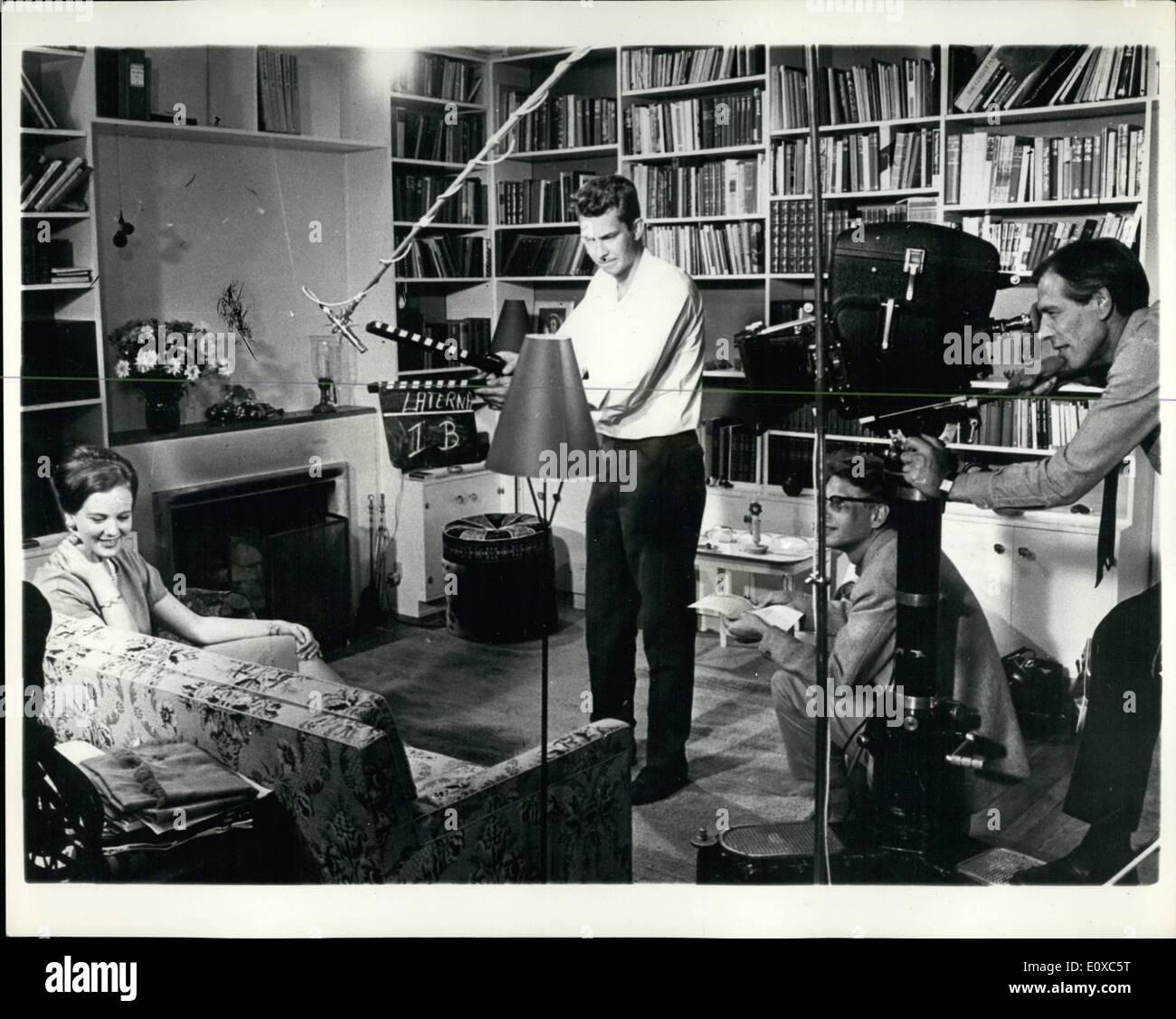 Febrero 02, 1966 - La Princesa Margarita de Dinamarca dará resumen en la exhibición de su película de gira latinoamericana.: un color película retrata el viaje realizado a comienzos de este año por la heredera al trono danés, la Princesa Margethe para América Latina, tendrá su primera exhibición en Copenhague el 8 de septiembre. En una introducción a la película, la Princesa dará un breve resumen de sus impresiones de la hora, el rodaje de la película que tuvo lugar en su residencia privada en Palacio Amelienborg, en Copenhague, bajo el productor danés Claus Toksvig Imagen De Stock