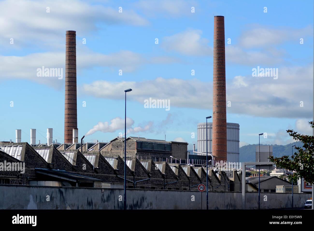 La fábrica de Michelin en Clermont-Ferrand, Francia Imagen De Stock