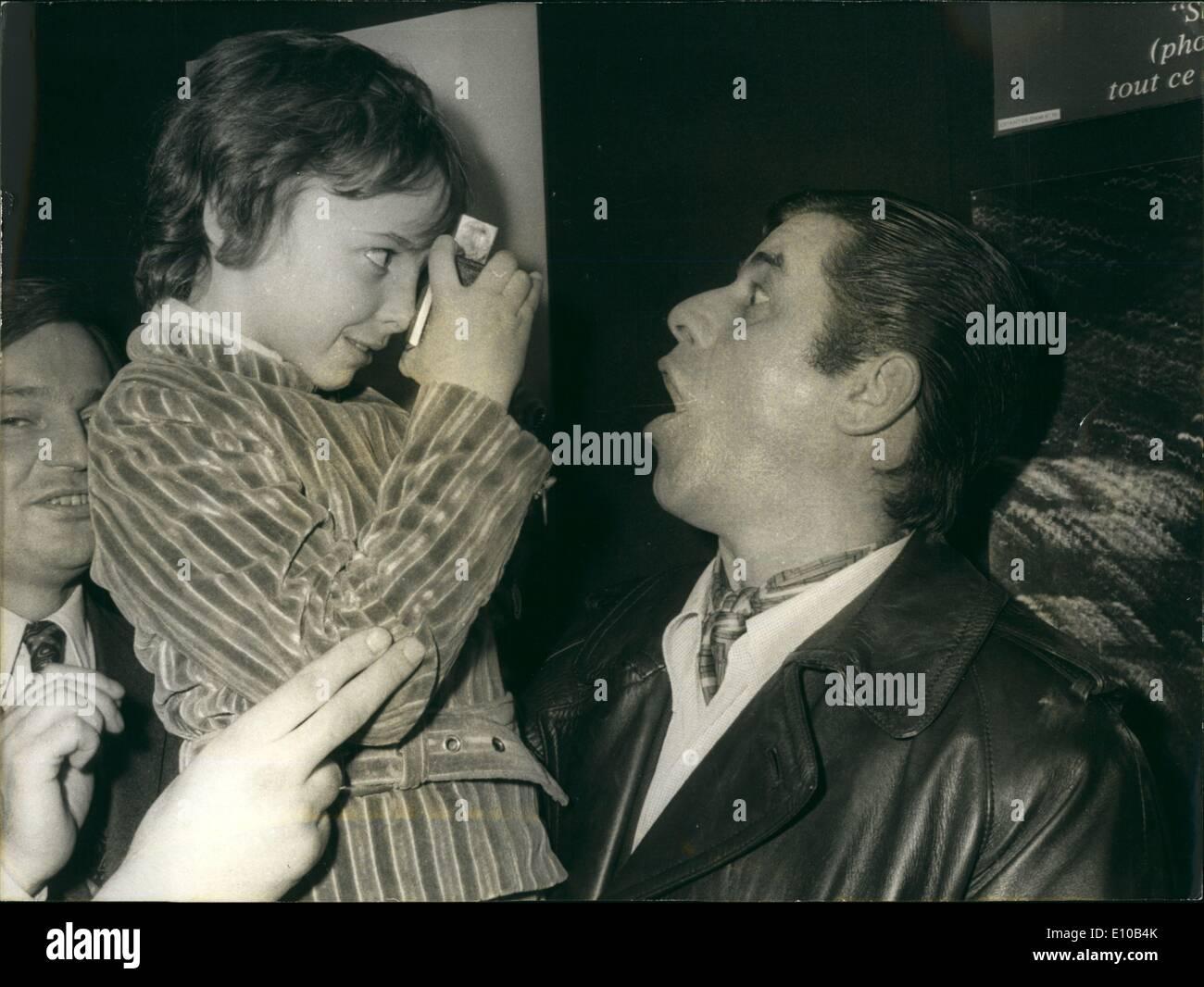 Marzo 03, 1972 - El Duque de Edimburgo Foto de stock