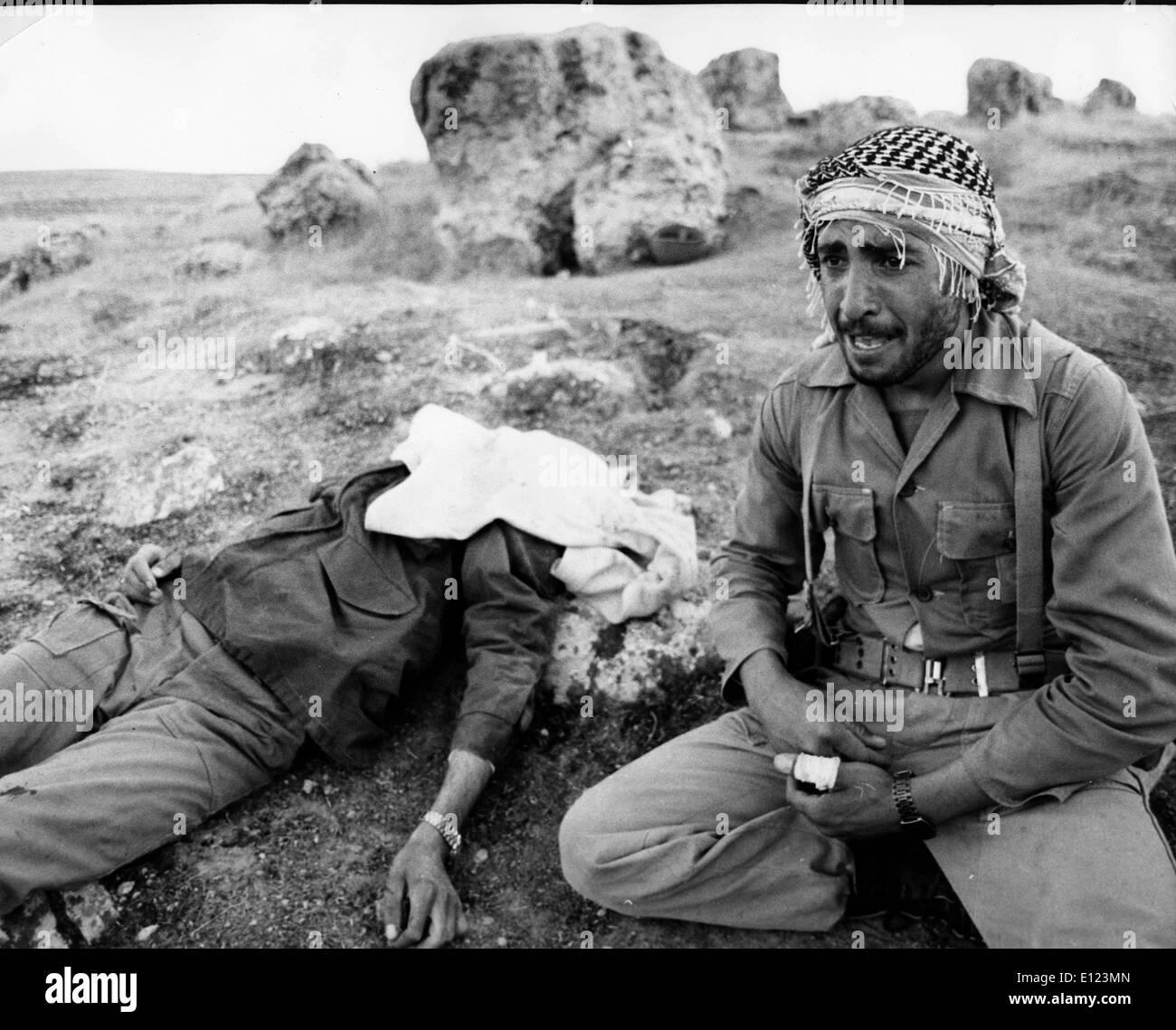 Mar 25, 1985; en Teherán, Irán; Irán desde la perspectiva de la guerra de 1980 entre el Irán y el Iraq. (Crédito de la Imagen: © KEYSTONE Fotos EE.UU.) Imagen De Stock