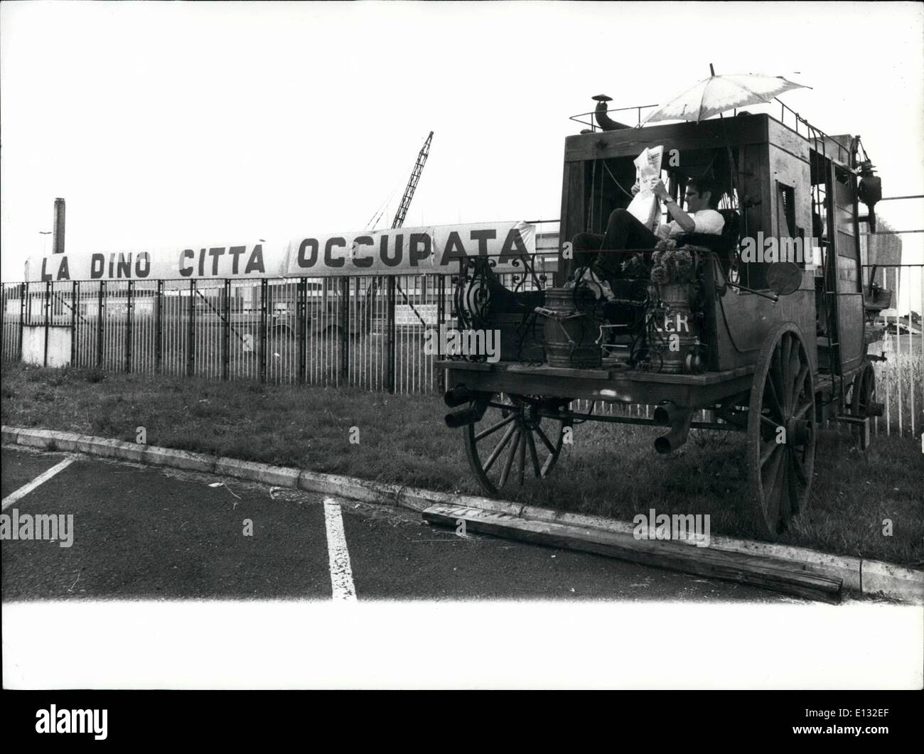 El 26 de febrero de 2012 - el más moderno cine-estudios de 'Dinccitta' cerca de Roma han sido vendidos por el productor Cene De Laurentiss que pro Imagen De Stock