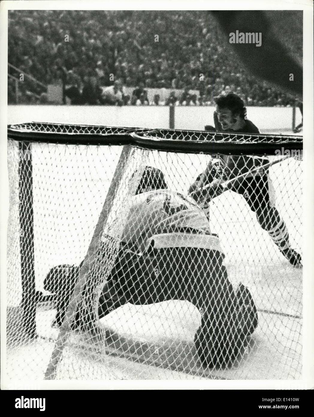 Marzo 31, 2012 - URSS ice hockey - Vancouver Septiembre 1972 Imagen De Stock