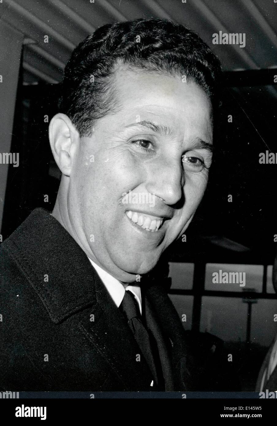 Archivo - Ahmed Ben Bella, 25 de diciembre de 1918 - 11 de abril de 2012 que fue un miembro clave de la revolución Foto de stock