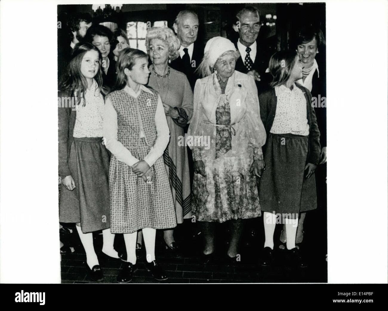 Abril 18, 2012 - Emperor-Daughter Victoria Luise murió: En la edad ...