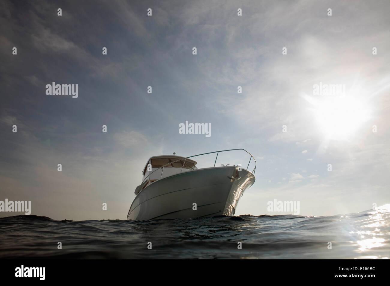 Yate de 48 pies sport cruiser Foto de stock