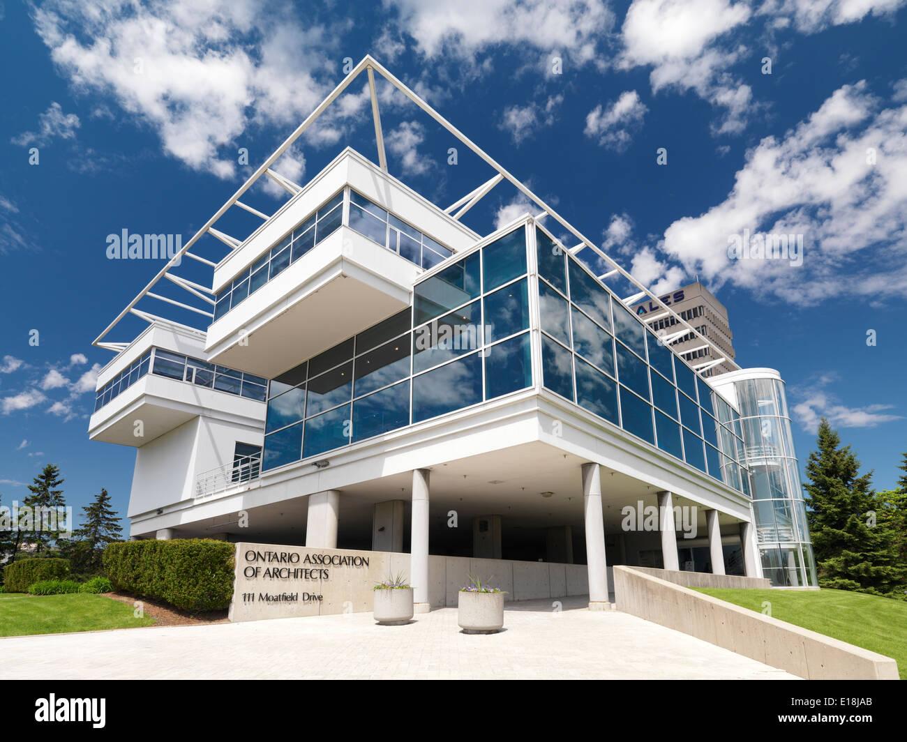 Asociación de Arquitectos edificio de Ontario en Toronto, Ontario, Canadá. Imagen De Stock
