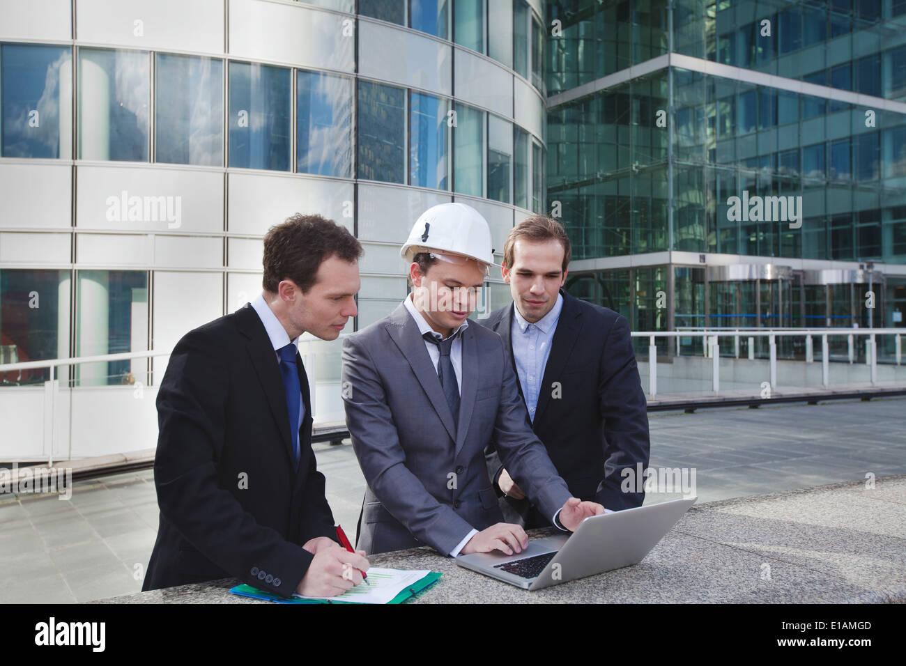 Proyecto de trabajo de construcción Imagen De Stock