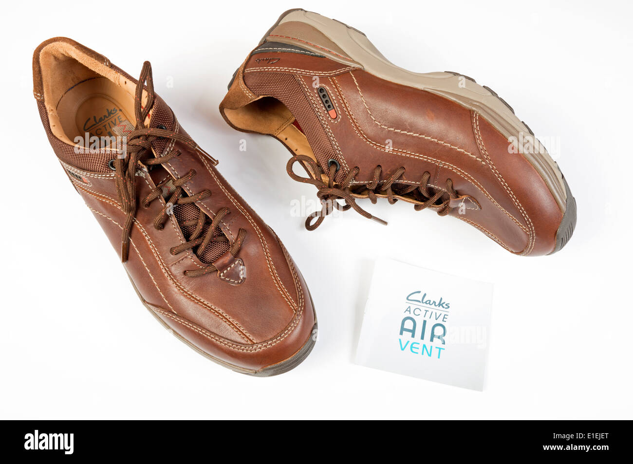 Mens Clarks Active Air Shoes Imágenes De Stock & Mens Clarks