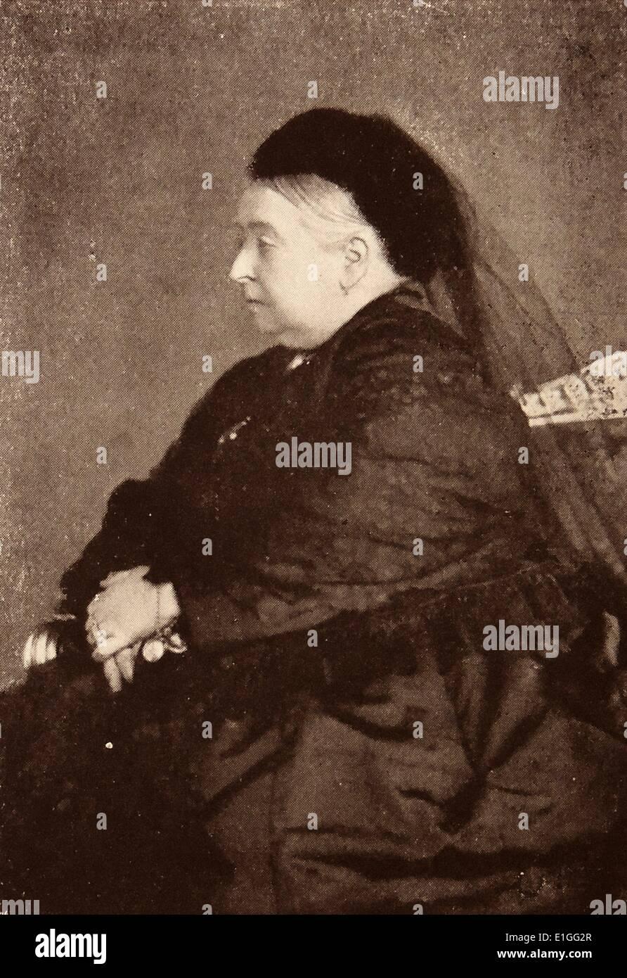 Reina Victoria Imagen De Stock